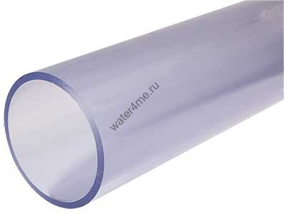 Труба PVC-U клеевая прозрачная без раструба, d40 х 3,2 PN16 ? купить в Москве по цене 1 020 руб.